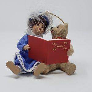 1995 Hallmark Beverly and Teddy Ornament.